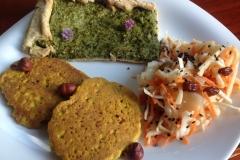 Assiette de la semaine, colorée et riche en saveurs